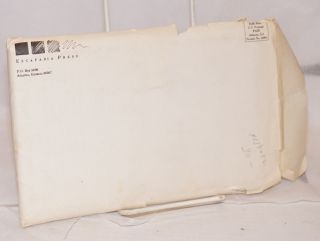 Fugitive information; numbers 1- 6, 8 and 9, and 9 issues of subscriber's notes