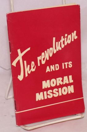 The Revolution and Its Moral Mission. S. Krapivensky