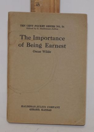 The importance of being Earnest. Oscar Wilde