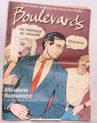 Boulevards: vol. 2 #9, September 1980; Modern Romance. Kevin Jenkins, Richard Meltzer Paul...