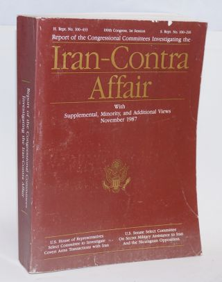 Report of the congressional committees investigating the Iran-contra affair with supplemental,...