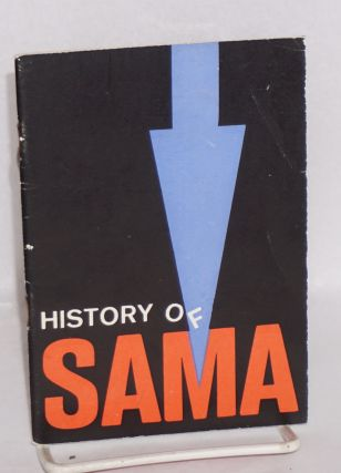 The history of Sama; taken from Bohemia, October 22, 1971