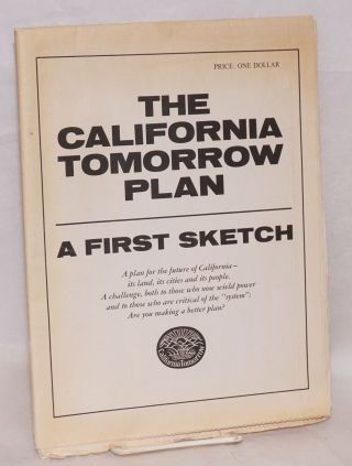 The California tomorrow plan: a first sketch