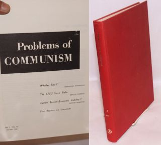 Problems of Communism.# Volume VII (1958