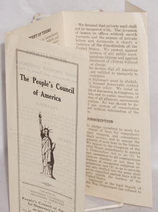 The People's Council of America