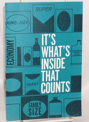 It's what's inside that counts. Industrial Union Department AFL-CIO