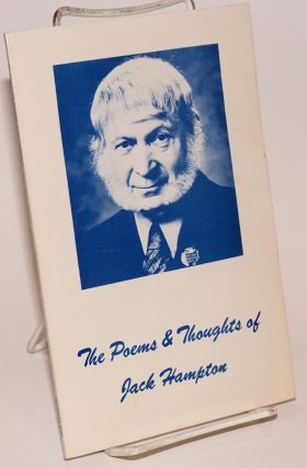 The poems and thoughts of Jack Hampton. Jack Hampton