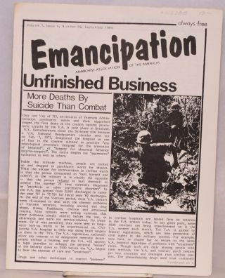 Emancipation: Vol.7, No.4, (No. 58), September 1984