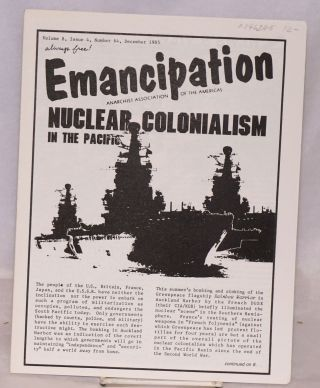 Emancipation; Vol.8, No.4, (No. 64), Dec 1985