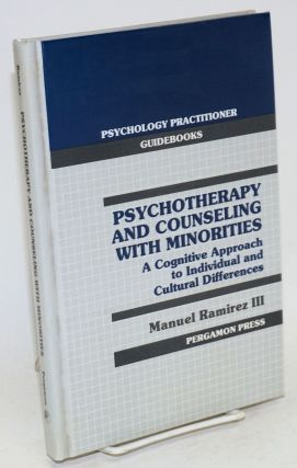 Psychotherapy and counseling with minorities; a cognitive approach to individual and cultural...
