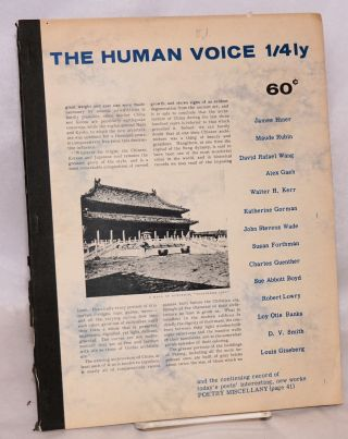 The human voice quarterly; vol. 2, no. 1 (Feb. 1966). D. V. Smith, J. H. Fredrick, Kitsono Katue...