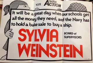 Sylvia Weinstein for Board of Supervisors