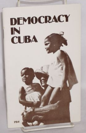 Democracy in Cuba. Terry Cannon
