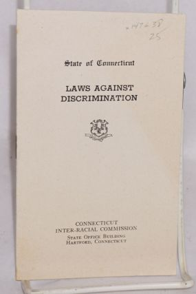 Laws against discrimination; state of Connecticut