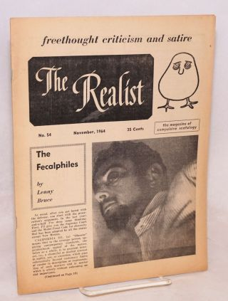 The realist [no.54]; freethought criticism and satire. November, 1964. The magazine of...