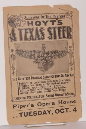 Hoyt's A Texas Steer