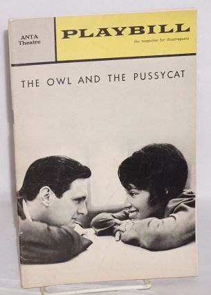 Playbill; volume 2 number 6, June 1965 for the ANTA Theatre production of The owl and the pussycat starring Diana Sands and Alan Alda