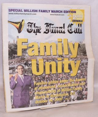 The final call; October 16, 2000, special Million Family March edition