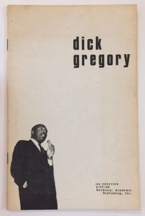 Dick Gregory: an interview. Dick Gregory