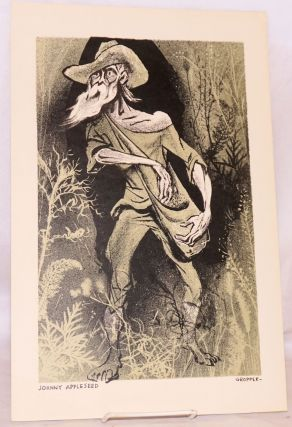 Johnny Appleseed [lithograph]. William Gropper