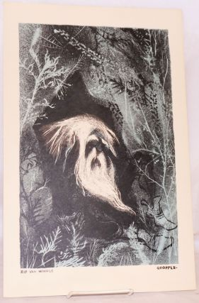 Rip Van Winkle [lithograph]. William Gropper