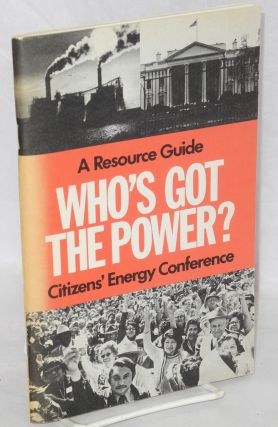 Who's got the power: a resource guide. Susan Orr