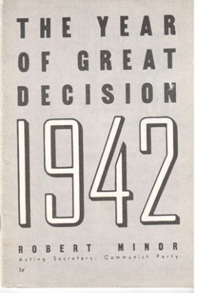 The year of great decision: 1942