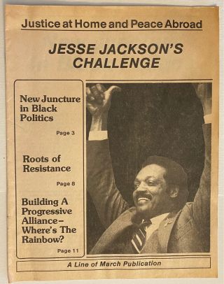 Justice at home and peace abroad: Jesse Jackson's challenge