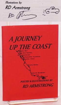 A journey up the coast, poetry and illustrations. RD Armstrong, aka RainDog