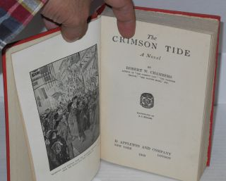 The crimson tide, a novel. Illustrated by A.I. Keller