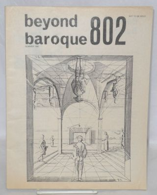 Beyond baroque 802; vol. 11, no. 2, spring 1980: gay and Lesbian Theme issue