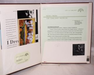 I dream a world; portraits of Black women who changed America; publicity packet for the exhibit at the Okaland Museum 1991