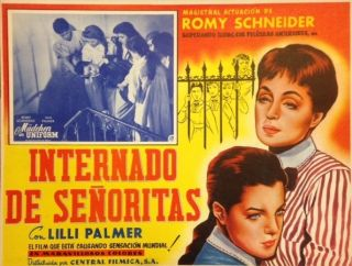Internado de señoritas (Girls' Boarding School) [poster