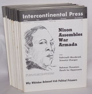 Intercontinental Press. Vol. 10, no. 1 (January 10, 1972) to vol. 10, no. 47 (December 25, 1972)