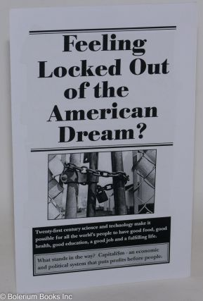 Feeling locked out of the American Dream? USA Communist Party