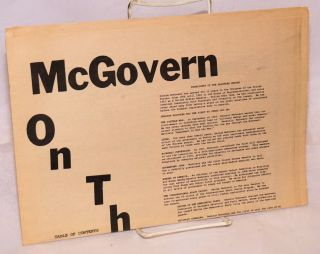 McGovern on the issues