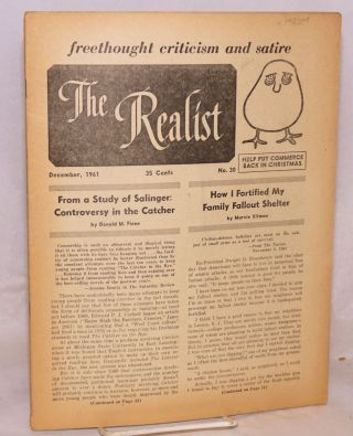 The realist [no.30] freethought criticism and satire. December, 1961. Help put commerce back in...