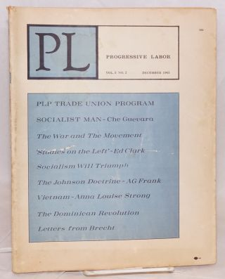 PL, vol. 5, no. 2, December 1965. Milton Rosen