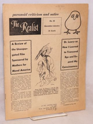 The realist [no.55] paranoid criticism and satire. December-January, 1964. Paul Krassner, ed