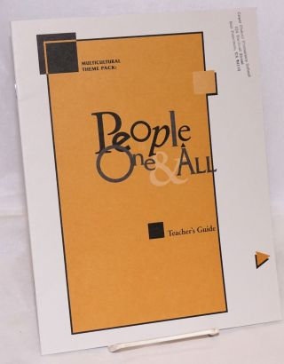 Multicultural theme pack: people one & all; teacher's guide