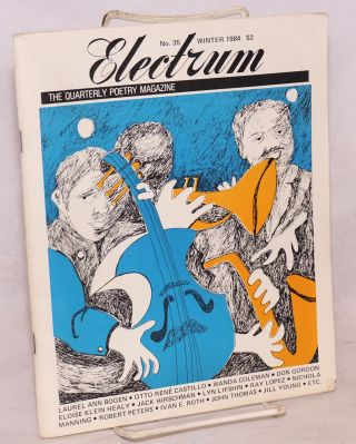 Electrum; the quarterly poetry magazine; no. 35, Winter 1984