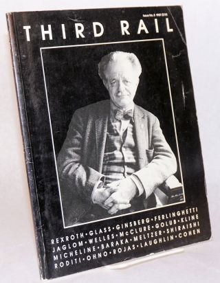 Third Rail:a review of international literature and the arts; number. 8, 1987. Uri Hertz