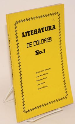 De colores; journal of emerging Raza philosophies, volume 1, number 4. Jose Armas, issue, Jose...