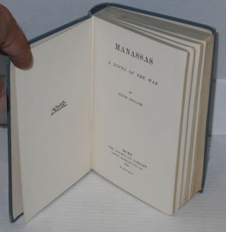 Manassas; a novel of the war.