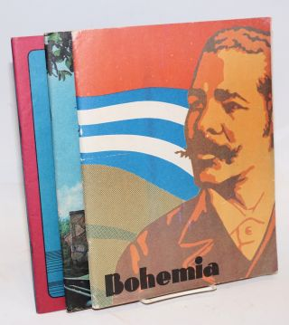 Bohemia [three issues of the Cuban magazine