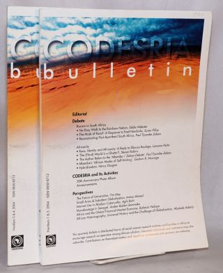 Codesria bulletin numbers 1 & 2, 3 & 4, 2004