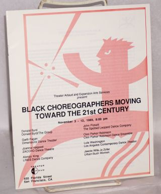 Black choreographers moving toward the 21st century; November 3-12, 1989