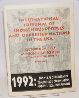International Tribunal of Indigenous Peoples and Oppressed Nations in the USA
