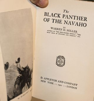 The black panther of the Navaho