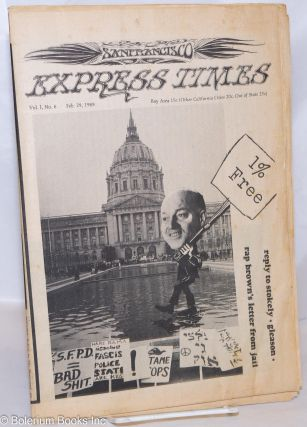 San Francisco Express Times, Vol.1, No.6, February 29, 1968. Marvin Garson, Robert Novick